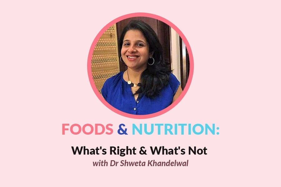 Nutri-Wisdom: Nutritionist Shweta Separates Food Facts From Fiction