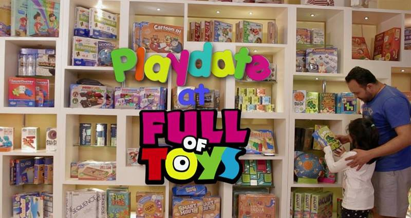 Playdate at Full of Toys