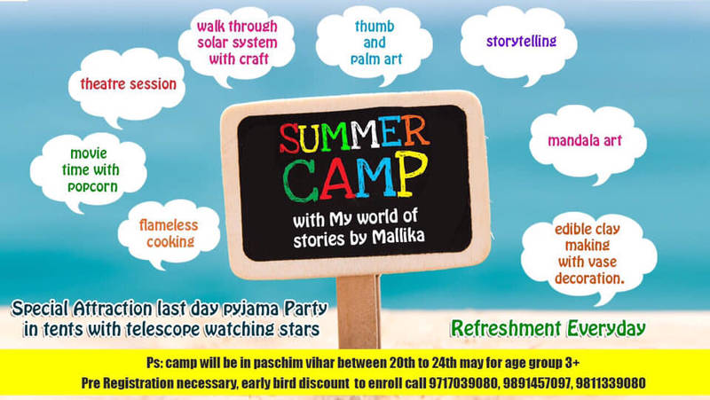 Summer Camp by My World of Stories by Mallika