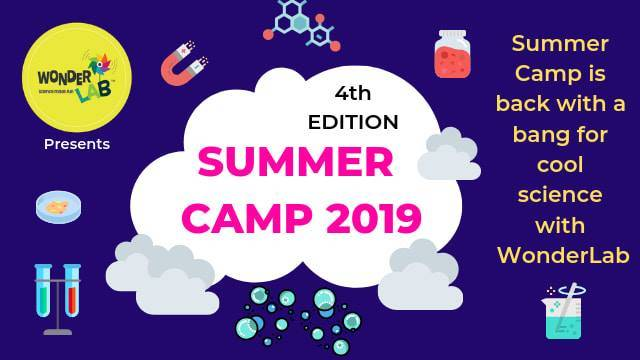 WONDERLAB 4TH EDITION WEST PUNJABI BAGH SUMMER CAMPS
