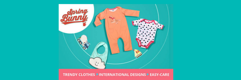 93ae43a7 Buy Spring Bunny Brand Online at Best price in India | BabyChakra